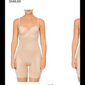 Spanx Suit your fancy cupped mid thigh shaper sz S